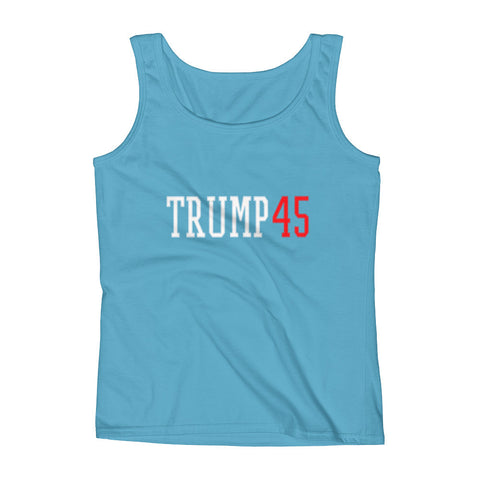 Donald Trump' Trump 45 Womens' Tank - Miss Deplorable