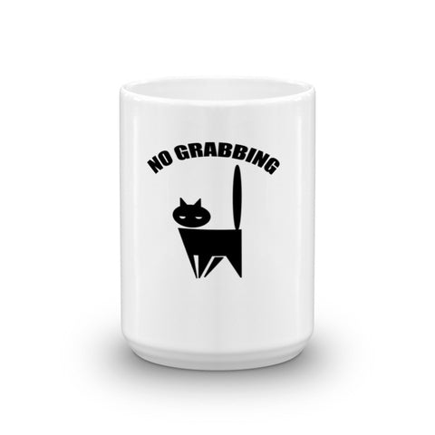 No Grabbing Pussy Cat Donald Trump Mug - Miss Deplorable
