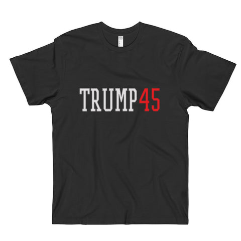 Donald Trump 45 Men's T-Shirt for $0.26 at Miss Deplorable