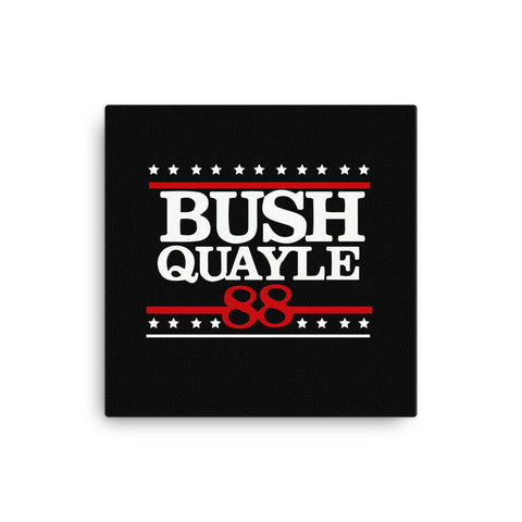 President George H W Bush Senior Campaign Canvas for $0.54 at Miss Deplorable