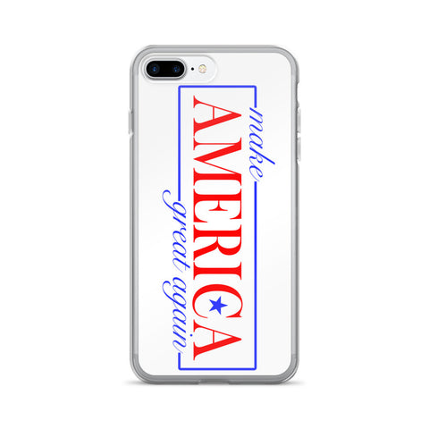 Make America Great again iPhone 7 / 7 Plus Case - Miss Deplorable