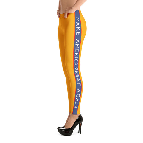 Donald Trump Make America Great Again Halloween Leggings - Miss Deplorable