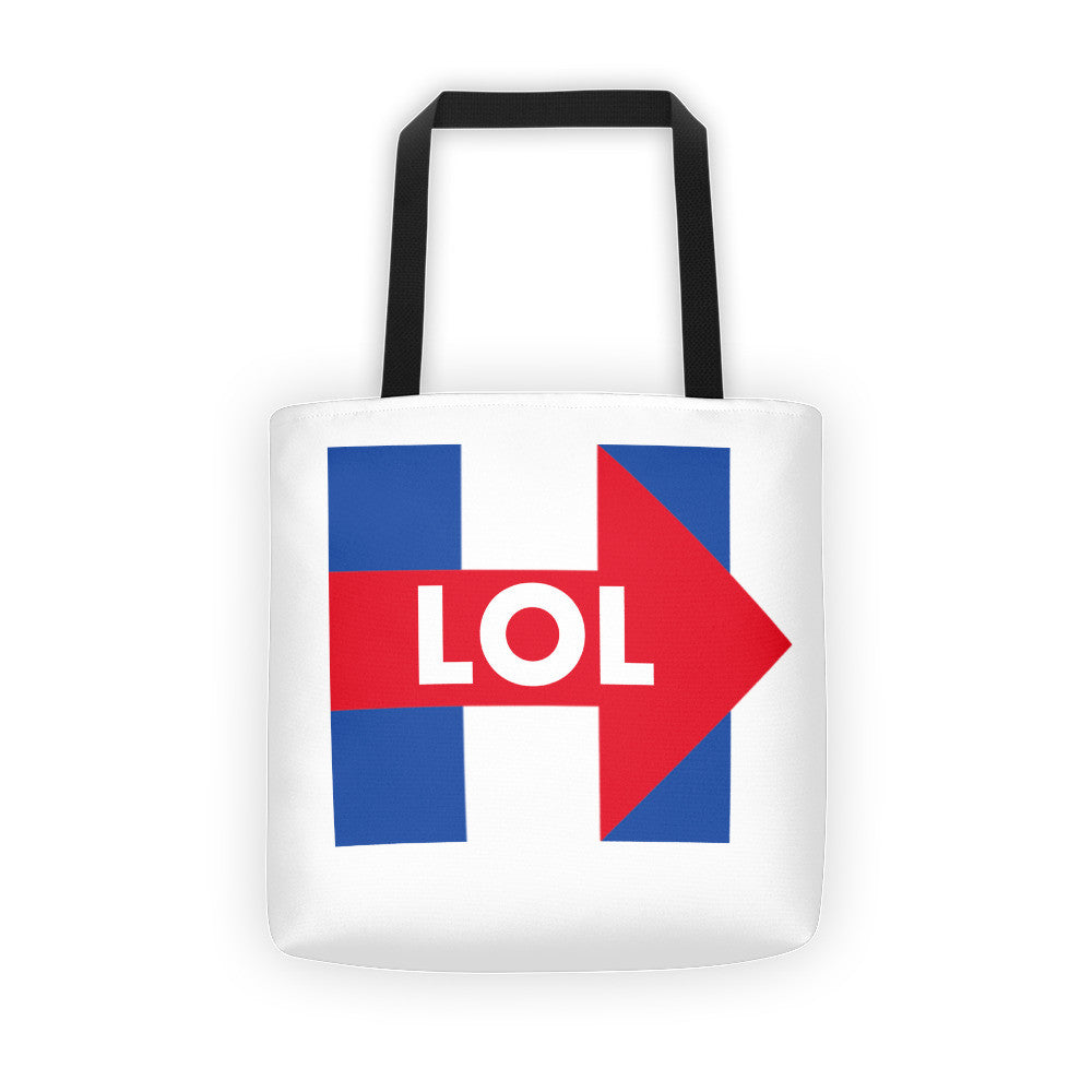 Hillary Clinton LOL Tote bag - Miss Deplorable