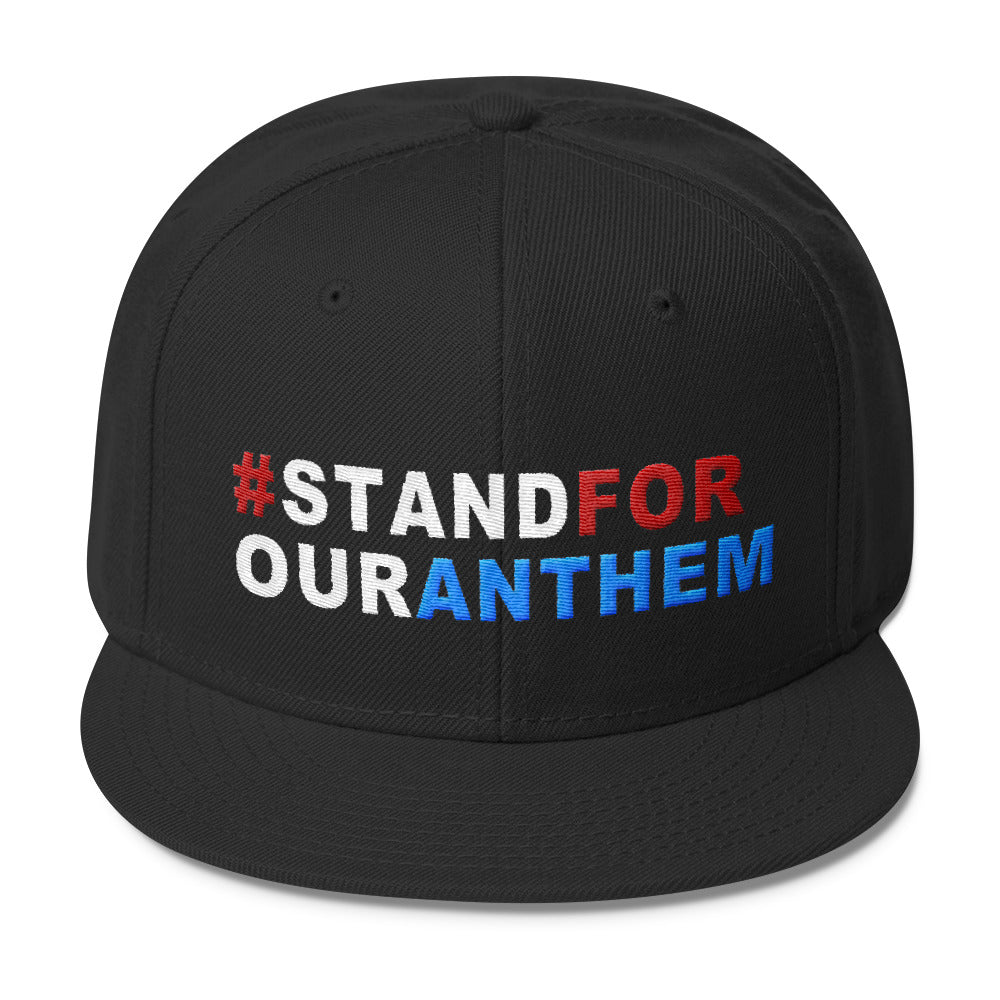 Stand For Our Anthem Snapback Hat - Miss Deplorable