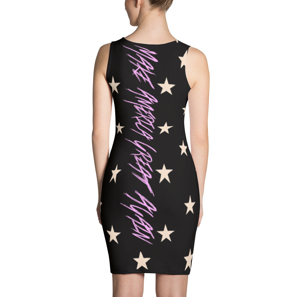 Electric Stars Make America Great Again Dress - Miss Deplorable