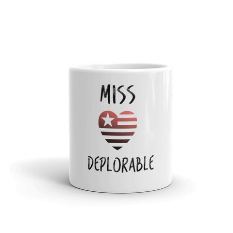 Miss Deplorable Mug for $25.00 at Miss Deplorable