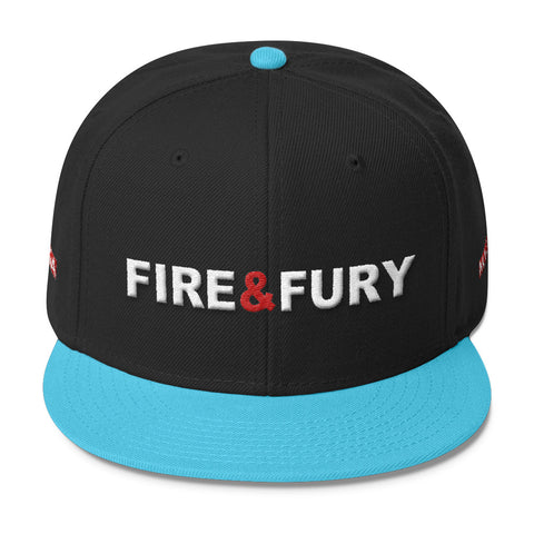 Donald Trump Fire And Fury Wool Blend Snapback - Miss Deplorable