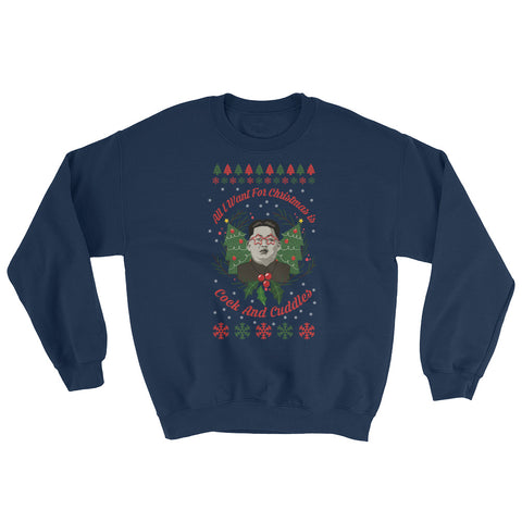 Funny Trump Kim Jung Un Christmas Ugly Sweater - Miss Deplorable