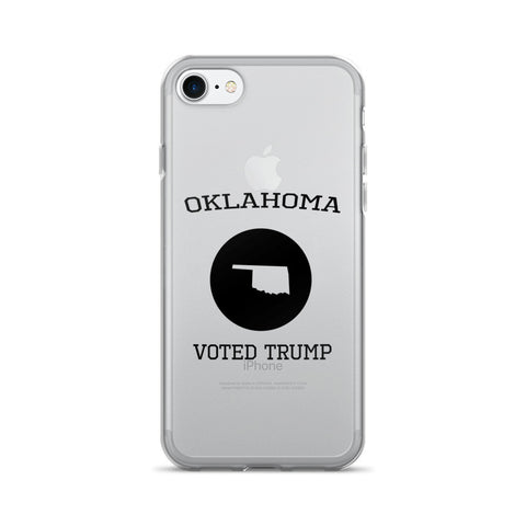 Oklahoma Voted Trump iPhone 7/7 Plus Case for $0.20 at Miss Deplorable