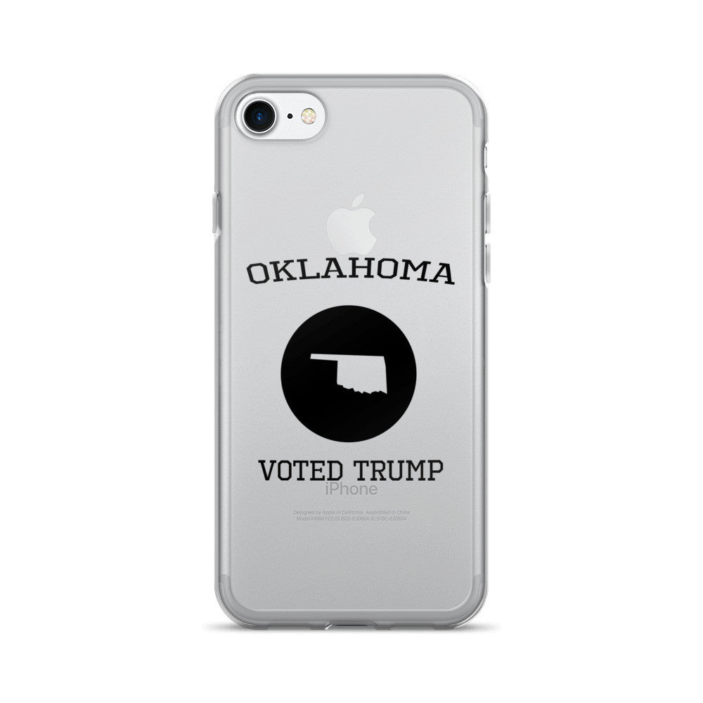 Oklahoma Voted Trump iPhone 7/7 Plus Case - Miss Deplorable