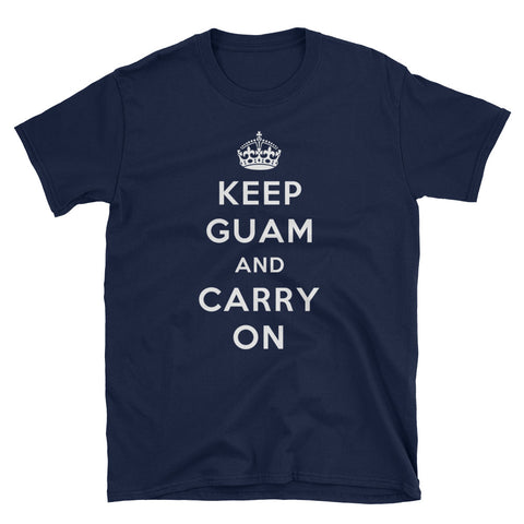Keep Guam And Carry On Mens T Shirt - Miss Deplorable