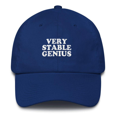 Donald Trump Very Stable Genius Cotton Cap - Miss Deplorable