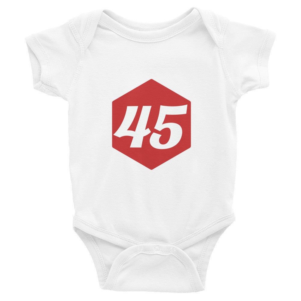 Trump 45 Infant Bodysuit - Miss Deplorable