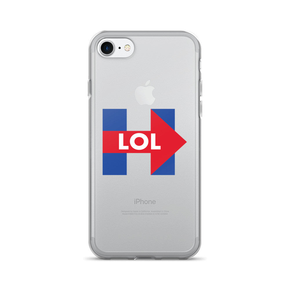 Hillary Clinton LOL iPhone 7/7 Plus Case - Miss Deplorable