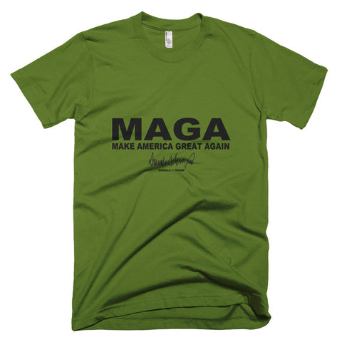 "Make America Great Again ""MAGA"" Short Sleeve Men's T-Shirt - Miss Deplorable"