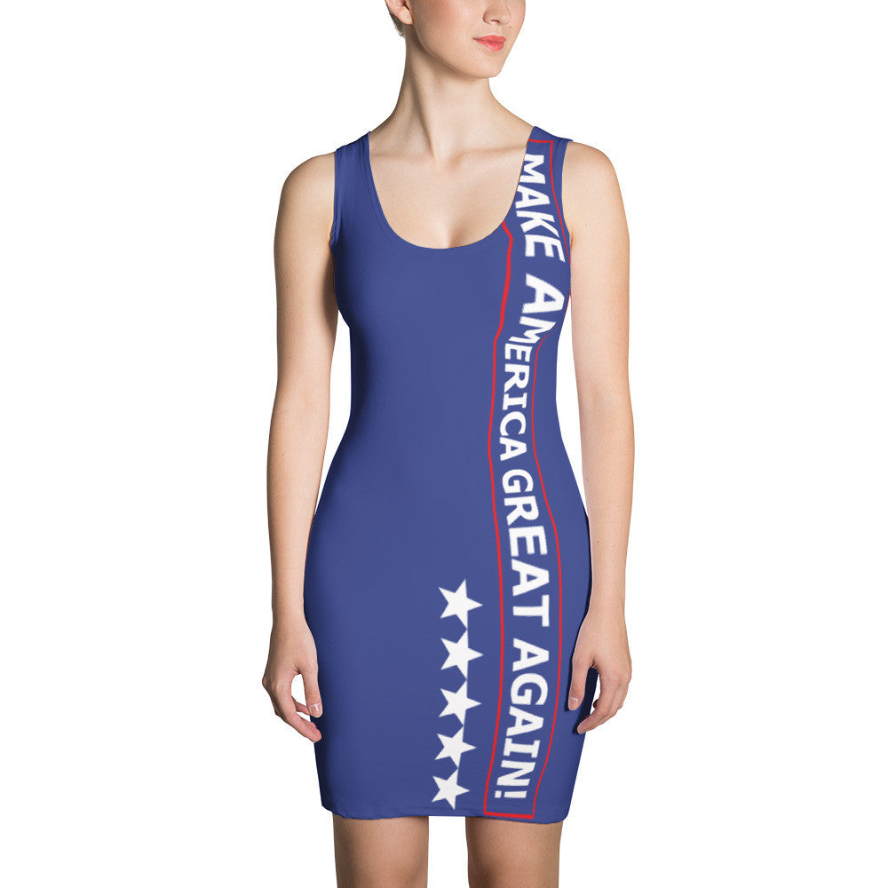 Joy Villa Make America Great Again Dress for $64.95 at Miss Deplorable