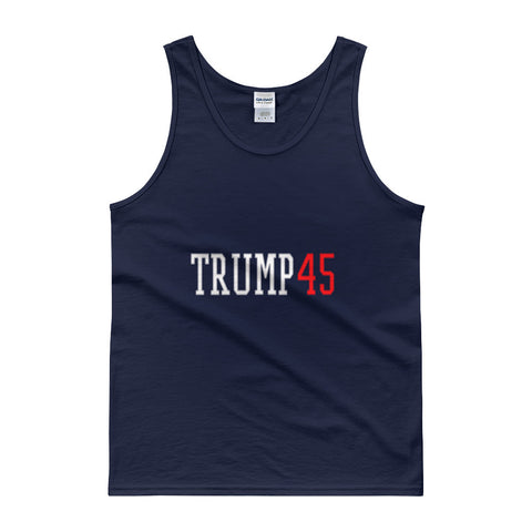 Donald Trump' Trump 45 Mens Tank Top - Miss Deplorable