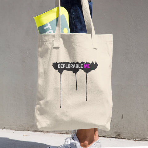 Deplorable Me Cotton Tote Bag - Miss Deplorable