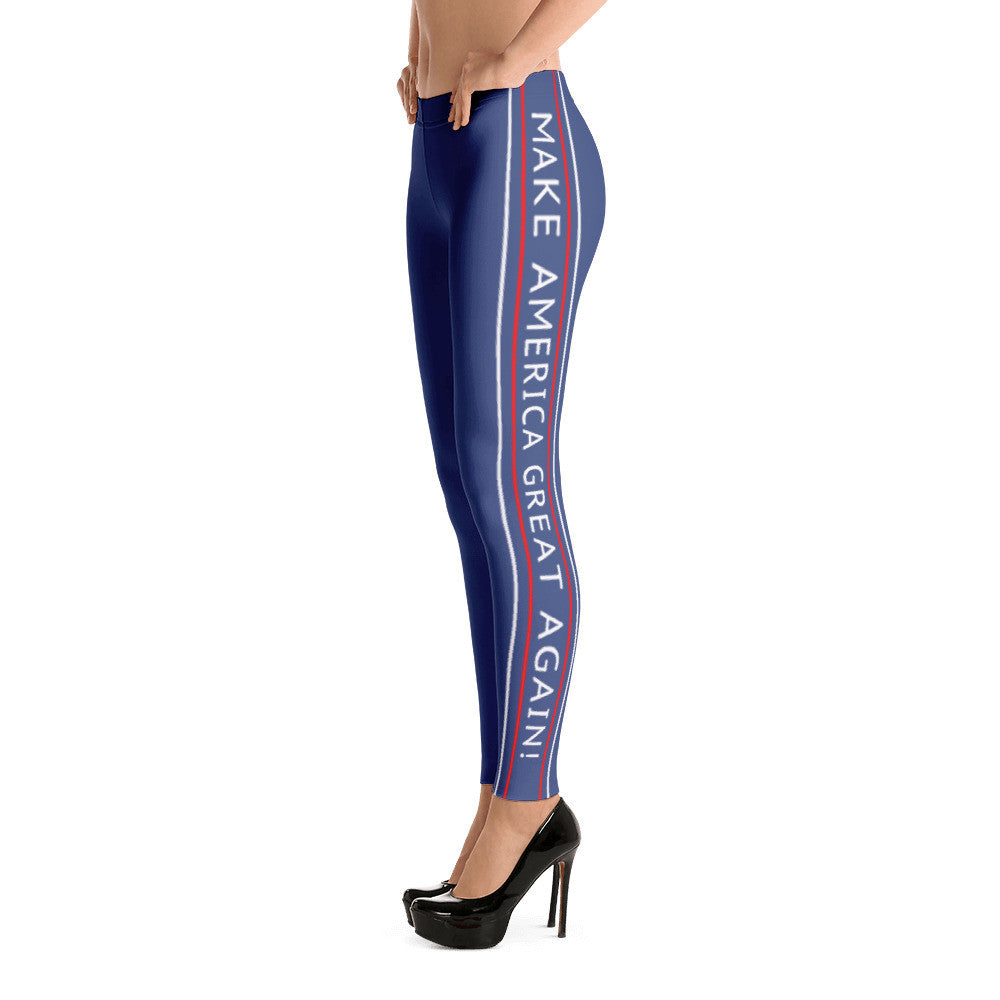 Make America Great Again Classic Leggings for $49.95 at Miss Deplorable