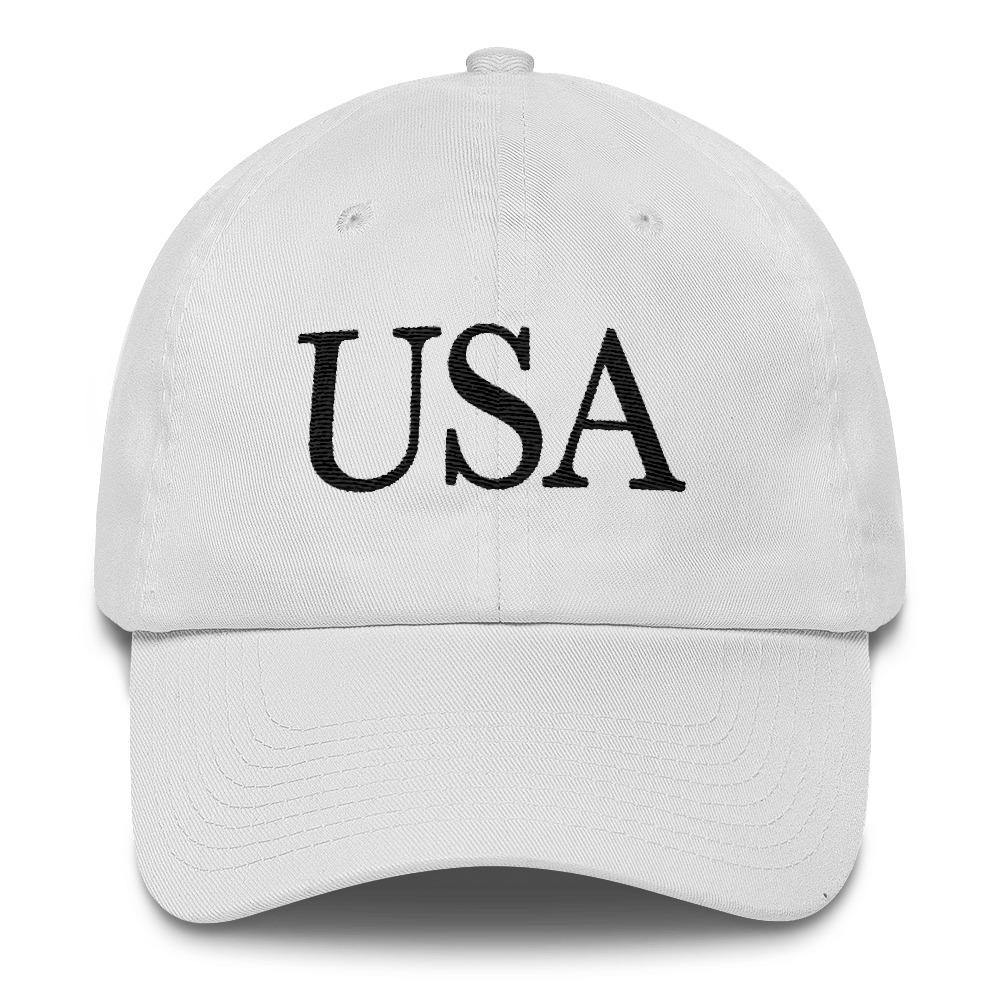 Melania Trump White USA Hat - Miss Deplorable