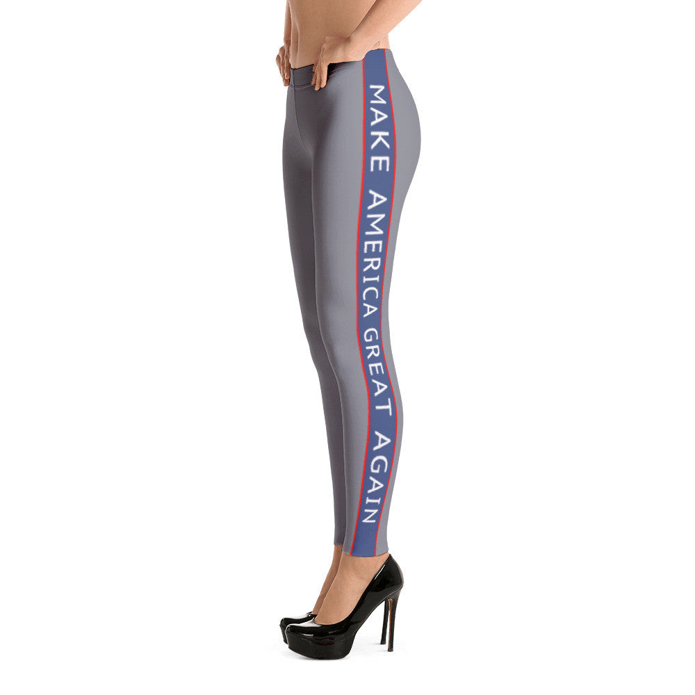 Make America Great Again Charcoal Leggings for $49.95 at Miss Deplorable