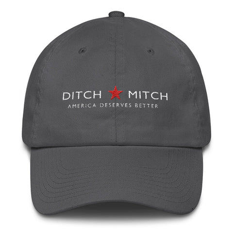 Ditch Mitch - Mitch McConnell Cotton Cap - Miss Deplorable
