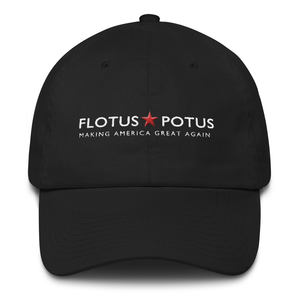 Flotus Potus Making America Great Again Cotton Cap - Miss Deplorable
