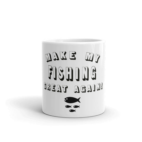 Make My Fishing Great Again! Donald Trump Mug - Miss Deplorable