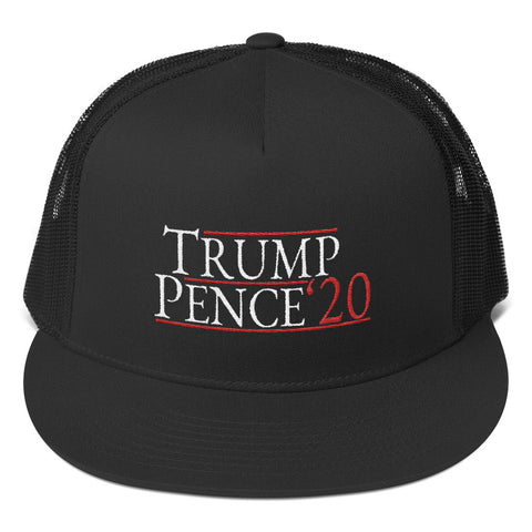 Donald Trump Mike Pence 2020 Classic Trucker Cap - Miss Deplorable