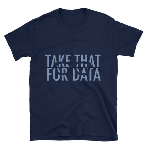 Take That For Data Memphis Grizzlies David Fizdale Mens T-Shirt for $0.24 at Miss Deplorable