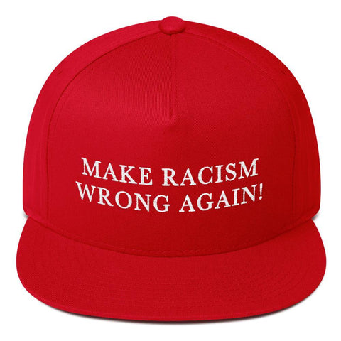 Make Racism Wrong Again Baseball Hat