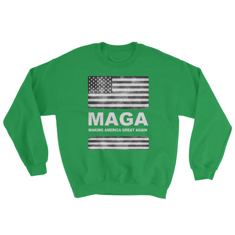 Donald Trump Distressed MAGA Sweatshirt - Miss Deplorable