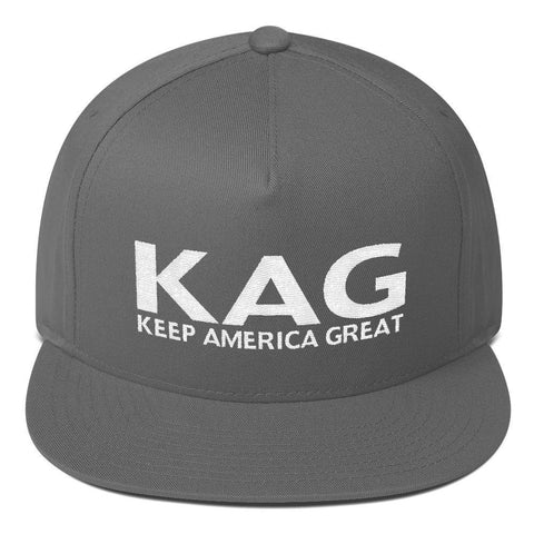 Donald Trump KAG HAT Keep America Great Flat Bill Cap - Miss Deplorable