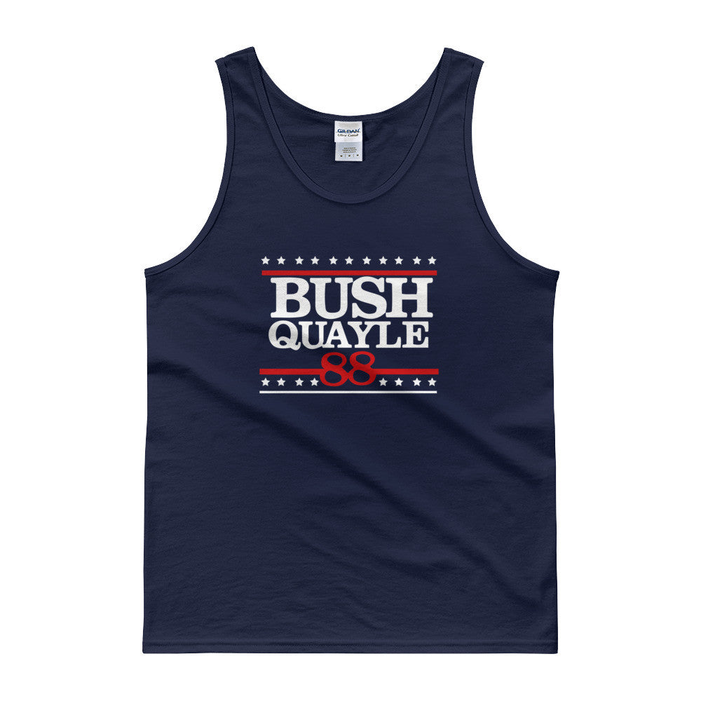 President George H W Bush Mens Tank Top for $29.00 at Miss Deplorable