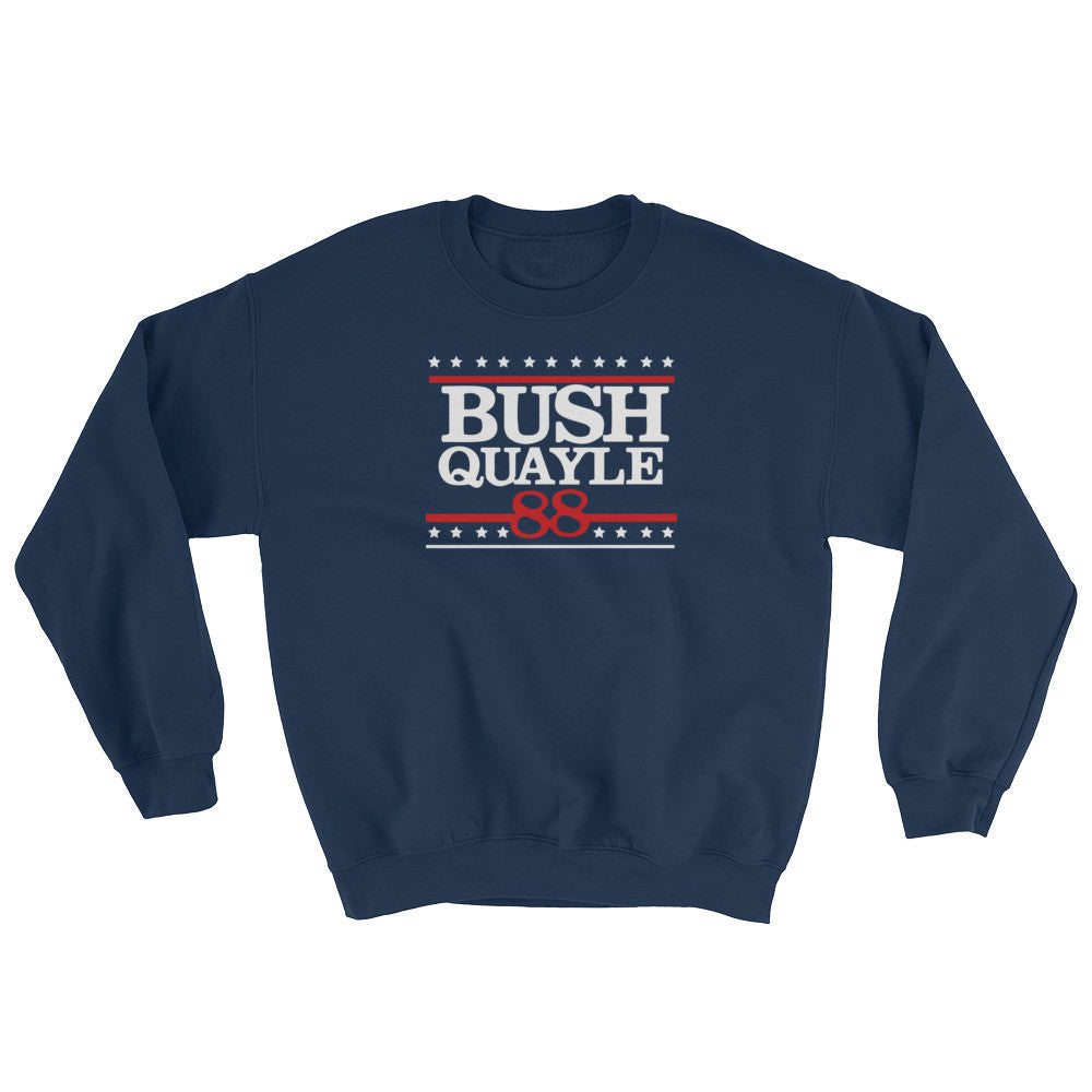 President George H W Bush Senior Sweatshirt Mens - Miss Deplorable