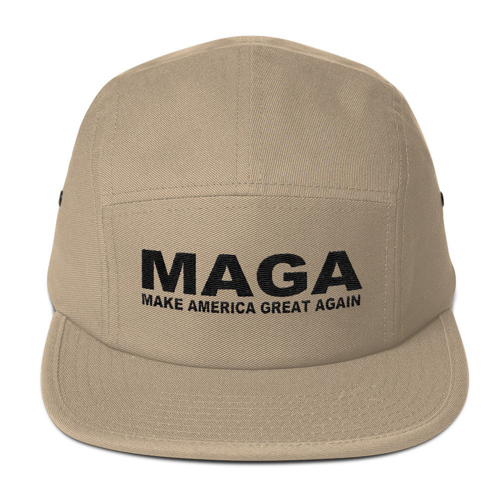 Make America Great Again Camper Cap Tan - Miss Deplorable