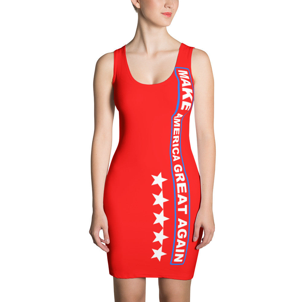 Make America Great Again Red Dress for $64.95 at Miss Deplorable