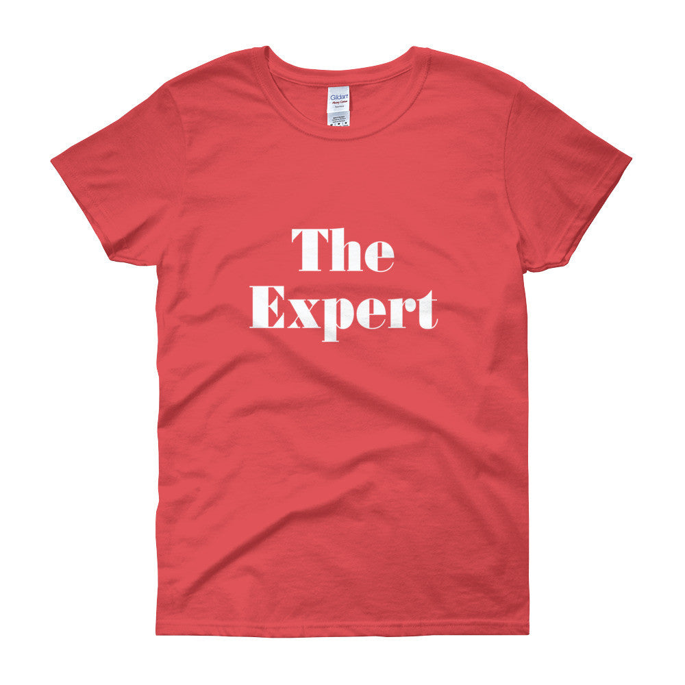 The Expert Barron Trump Women's Short Sleeve T-Shirt - Miss Deplorable