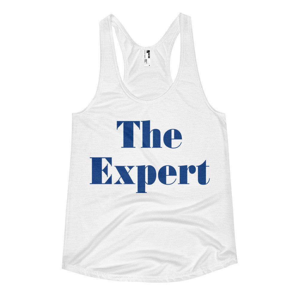 The Expert Barron Trump Women's Racerback Tank - Miss Deplorable