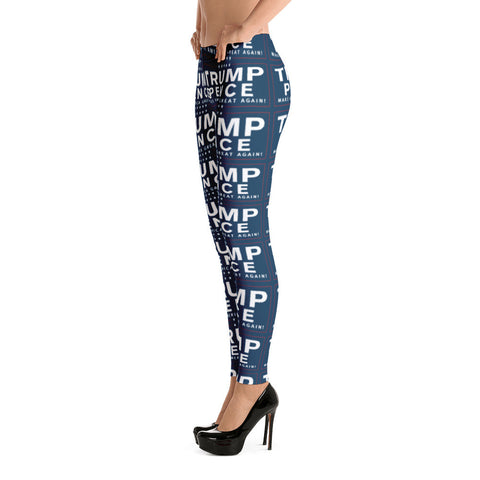 Trump Pence Make America Great Again Leggings - Miss Deplorable