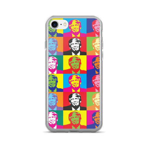 Andy Warhol Donald Trump iPhone 7/7 Plus Case for $0.24 at Miss Deplorable
