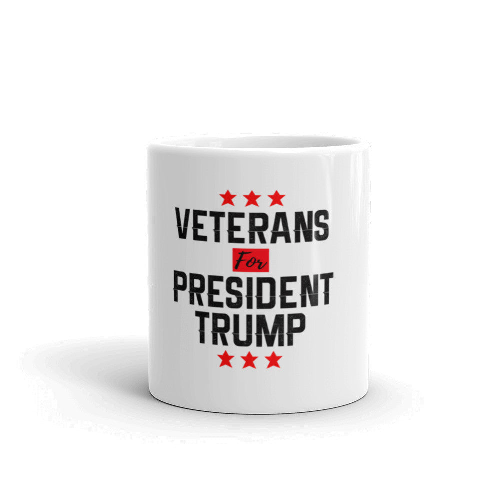 Veterans For President Trump Mug - Miss Deplorable