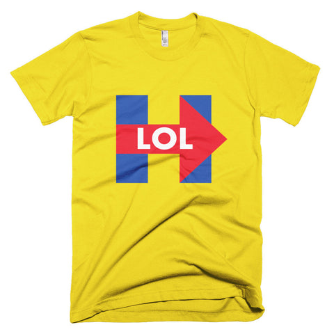 Funny Hillary Clinton LOL Men's T-Shirt - Miss Deplorable