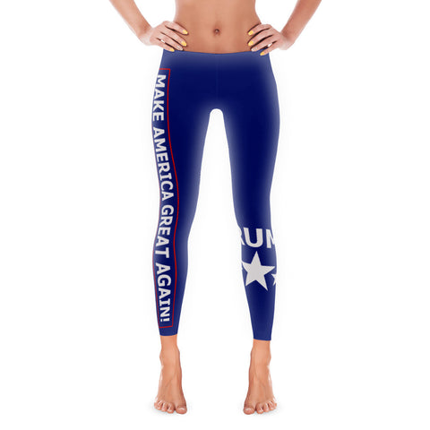 Make America Great Again Leggings - Miss Deplorable