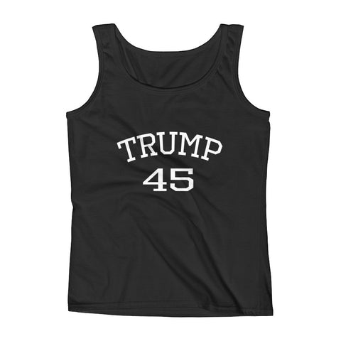 Trump 45 Donald Trump Ladies' Tank for $0.25 at Miss Deplorable
