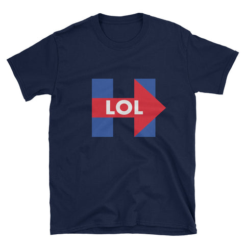 Hillary Clinton LOL Mens T-Shirt - Miss Deplorable