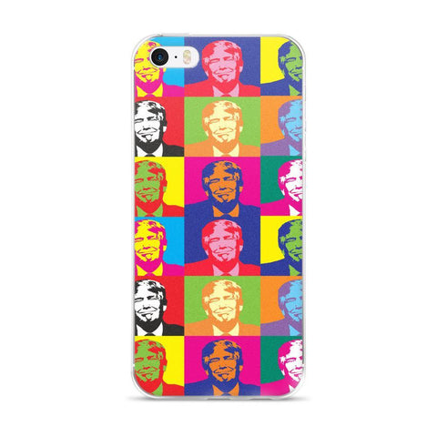 Andy Warhol Style Donald Trump iPhone 5/5s/Se, 6/6s, 6/6s Plus Case for $0.20 at Miss Deplorable