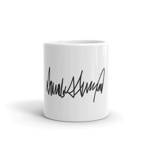 Donald Trumps Autograph Mug for $0.15 at Miss Deplorable