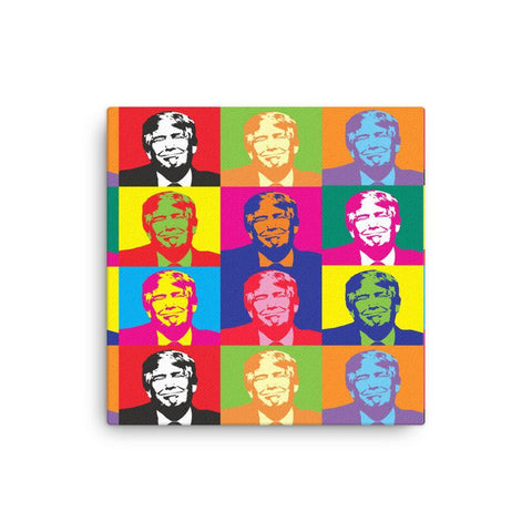 Andy Warhol Style Donald Trump Premium Canvas - Miss Deplorable