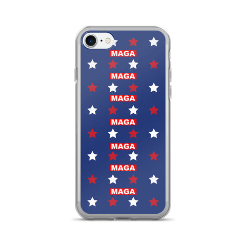Blue Make America Great Again iPhone 7/7 Plus Case for $0.24 at Miss Deplorable